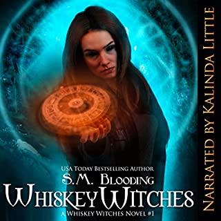 Whiskey Witches - Episodes 1-4 audiobook cover art