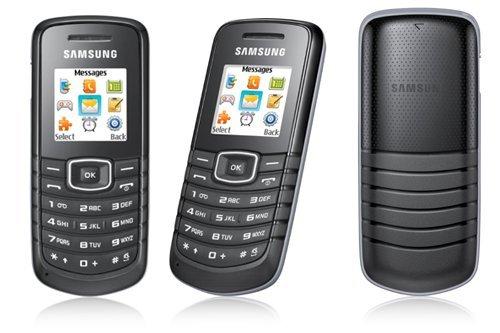 Samsung E1080 Handy black