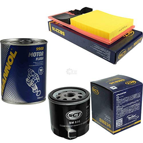 Original SCT Inspektionspaket Filter Set + Motor Flush Motorspülung 11583410