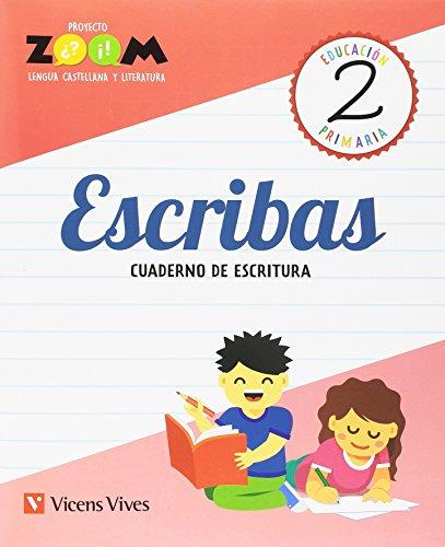 ESCRIBAS 2 CUADERNO DE ESCRITURA (ZOOM)