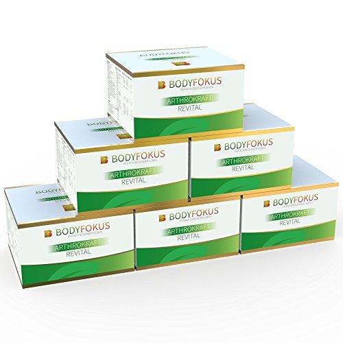 BodyFokus ArthroKraft Revital - Glucosamin + Chondroitin Komplex - 6 Packungen