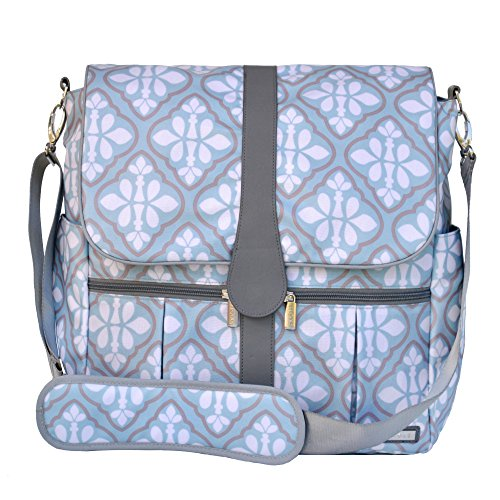 JJ Cole Backpack Diaper Bag, Blue Iris