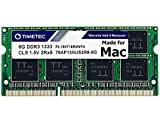Timetec Hynix IC compatible with Apple 8GB DDR3 1333MHz PC3-10600 SODIMM Memory Upgrade For iMac 12,2 (27-inch Mid 2011),...