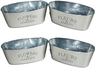 Best galvanized steel flower pots Reviews