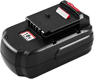 Upgraded to 3600mAh PC18B Replacement Battery 18 Volt Compatible with Porter Cable 18V PC188 PC18B-2 PC18BLEX PCC489N Cordless Power Tools