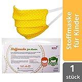 kogu Behelfstuch für Kinder Made in Germany waschbar 100% Baumwolle (gelb)
