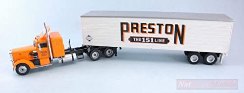 Ixo Model TTR003 Peterbilt 350 1952 Preston People 1 43 MODELLINO Die CAST Model Compatible avec