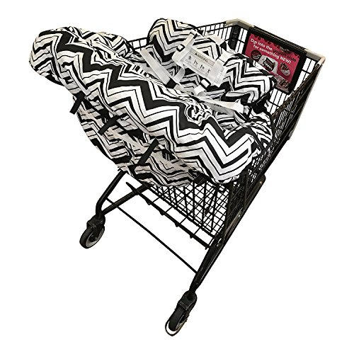 Y-Step Einkaufswagen-Babysitz schutz mit Gurt, 2-in-1 Babysitzauflage für Hochsitz und Einkaufswagen, Baby optimalen Schutz und ein hohes Maß an Hygiene beim Einkaufen