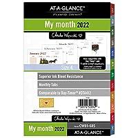 AT-A-GLANCE 2022 マンスリープランナー リフィル 5-1/2インチ x 8-1/2インチ デスクサイズ ルーズリーフ Charles Wysocki (CW81-685)