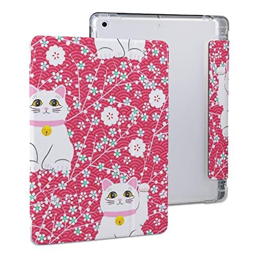 Gato Blanco Funda Protectora para Tableta iPad iPad 2020 Air 4 (10.9in)