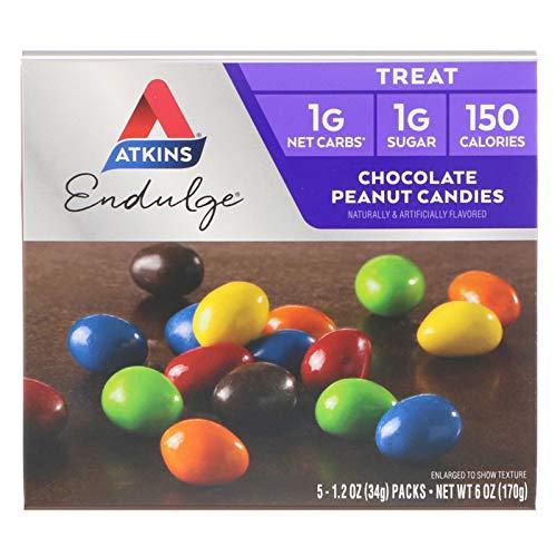 Atkins Endulge Chocolate Peanut Butter Candies 5-1.2 Oz Packs