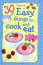 30 Easy Things to Cook and Eat (Usborne Cookery Cards) by Rebecca Gilpin (2009-01-30)