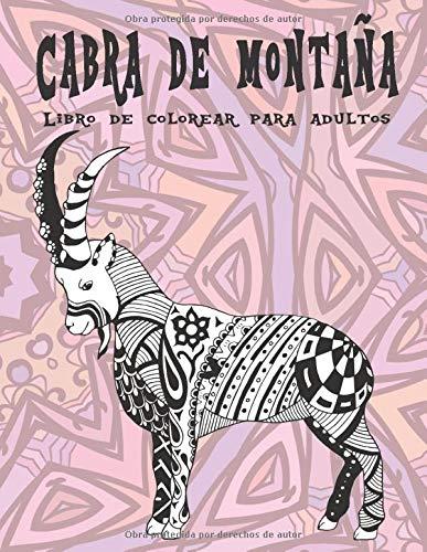 Cabra de montaña - Libro de colorear para adultos