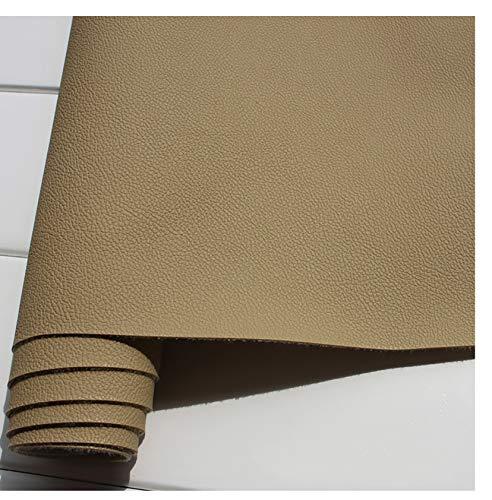 GERYUXA lederStuhl Bank Sessel Sofa Sitzbezug breit   Kunstleder Bezugstoff Polsterstoff Polsterbezug Möbelbezug Möbelstoff-Deep Khaki a9 1.4x3m