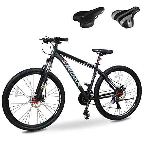 Sirdar S-800 29 inch 27 Speed Mountain Bike Double Disc Brake Full...