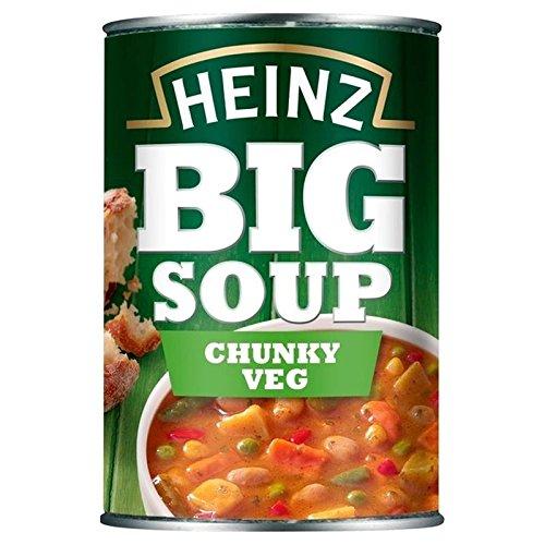 HEINZ Grande Soupe Chunky Légumes 400G - Paquet de 6