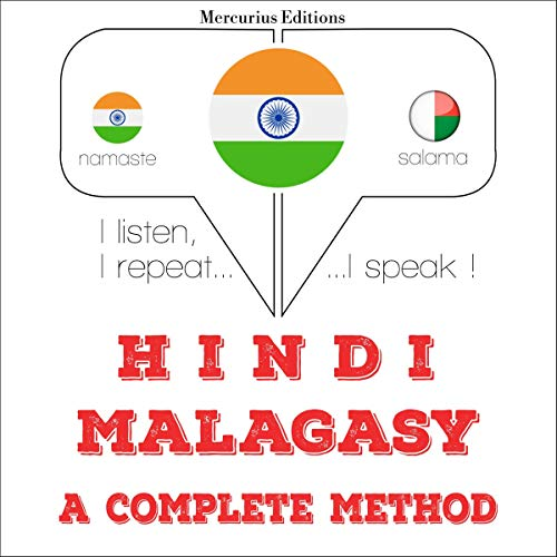 Hindi - Malagasy. a complete method audiobook cover art