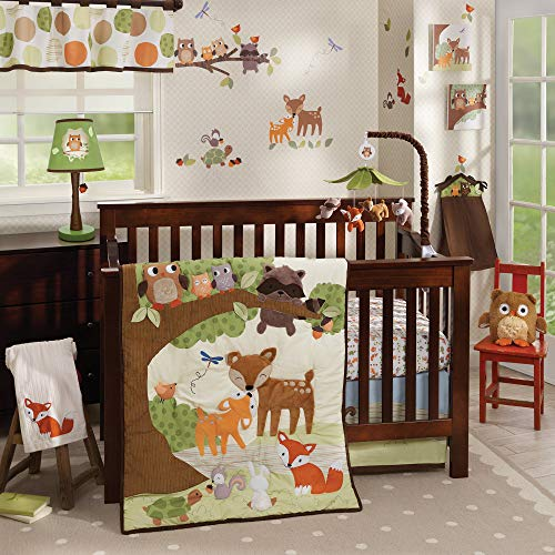 Woodland Tales 4 Piece Baby Crib Bedding Set by Lambs & Ivy by Lambs & Iv