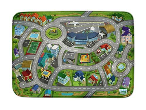 House Of Kids Ultrasoft Spielteppich - Speedway City Airport