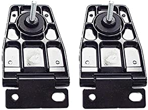 APDTY 140026 Liftgate Back Glass Hinge Set Fits Rear Left & Right 1997-2006 Jeep Wrangler TJ/ 1991-1995 Wrangler YJ With Hardtop (Replaces Mopar 5013723AB, 5013722AB)