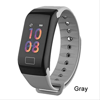 huiaynag Smart Watch Activity and Fitness Tracker F1 Plus Smart Bracelet Color Screen Waterproof Wristband Intelligent Bracelet Call Reminder Step Pulse Heart Rate Monitor