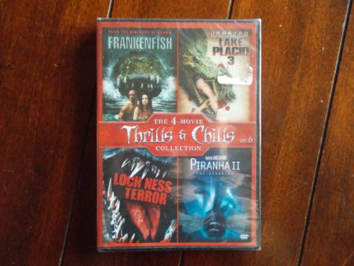 Frankenfish / Lake Placid 3 / Loch Ness Terror / Piranha 2: The Spawning - Set