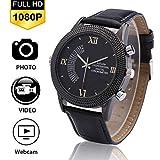 ZFYM 1080P HD cámara Inteligente Reloj Digital Impermeable cámara de visión Nocturna de grabación de Bucle súper...
