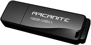 ARCANITE - Lápiz de memoria USB 3.1 de 128 GB, Flash Drive, Velocidad de lectura de hasta 400 MB/s
