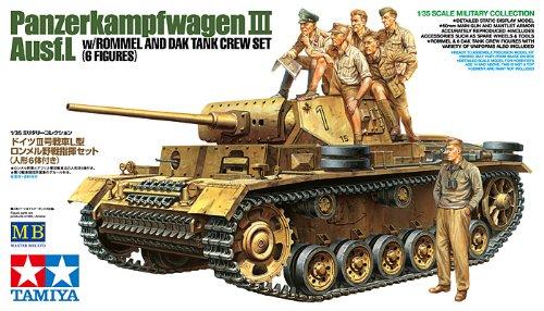 Tamiya Models Panzerkampfwagen III Ausf.L Model Kit 2