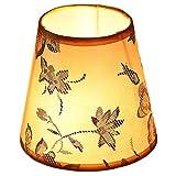 SAC d'épaule Pantalla de la lámpara de Mesa, adopta una Pantalla de Forma de Imperio pequeña diseñada tradicionalmente, Que se Puede Usar para lámpara de araña o Mesa