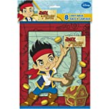 Disney Jake and the Never Land Pirates bolsa de bucle, 8 por bolsa