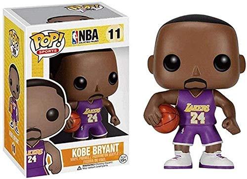 ¡Pop! Personnage NBA: Lakers # 11 Kobe Bryant no 24 Figura Coleccionable