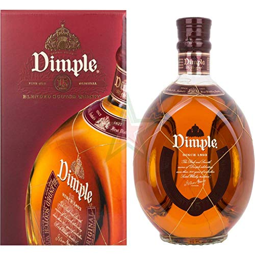 Dimple 15 Years Old 43,00% 1,00 Liter