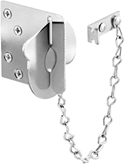 Defender Security, 3 in. x 3 in. Jamb Plate, 11 Gauge Steel, Chrome Plated Finish, Pack of 1