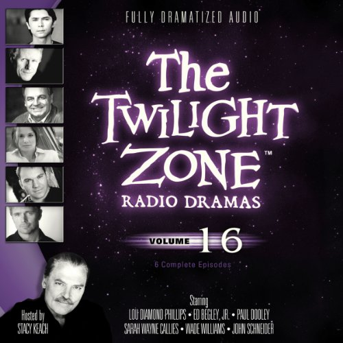 The Twilight Zone Radio Dramas, Volume 16 copertina
