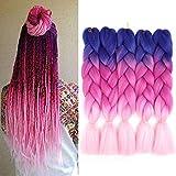 Best Box Hair Colors - Ombre Jumbo Braiding Hair 5pcs Jumbo Braid Crochet Review
