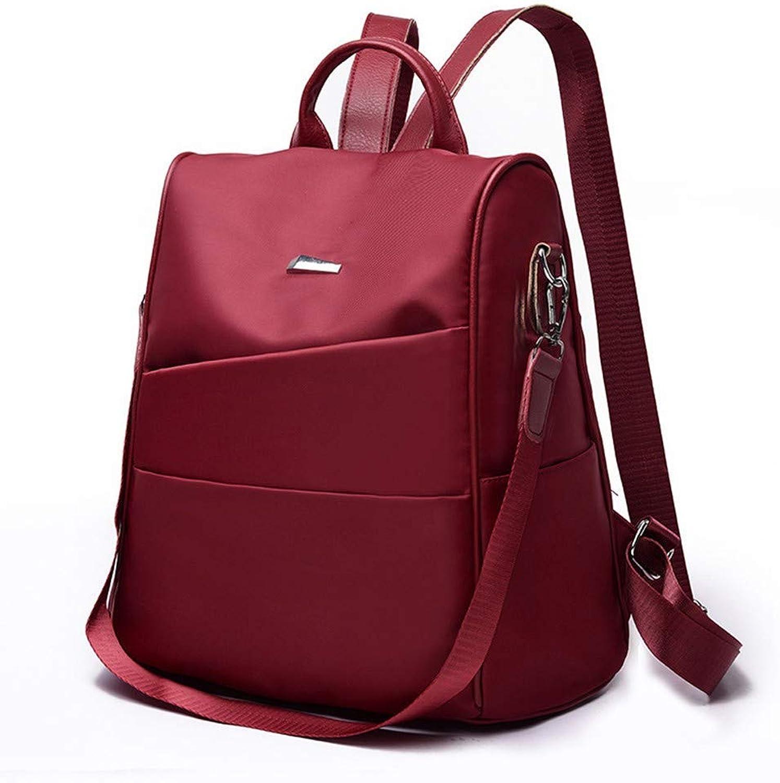 DYR Backpack Female Shoulder Bag Large pacity Backpack AntiTheft Bag Outdoor Travel Bag Student Bag Handbag
