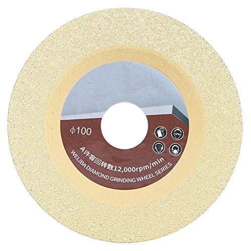 110MM 60 Disco abrasivo a maglie Disco diamantato per brasatura al titanio Disco da taglio circolare Lama per sega circolare per calcestruzzo Granito Ceramica Marmo