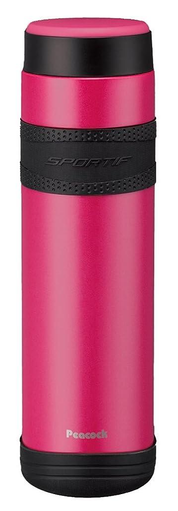 全く開発するズボンピーコック ステンレスボトル 【マグタイプ】 1.0L パールピンク AMJ-R100(PS)