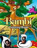 Bambi Coloring Book: A Fabulous Coloring Book For Fans of All Ages With Several Images Of Bambi. One Of The Best Ways To Relax And Enjoy Coloring Fun.
