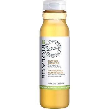 Biolage R.A.W. Champú nutritivo para cabello seco y con cáscara de quinoa y miel, 11 onzas líquidas oz.