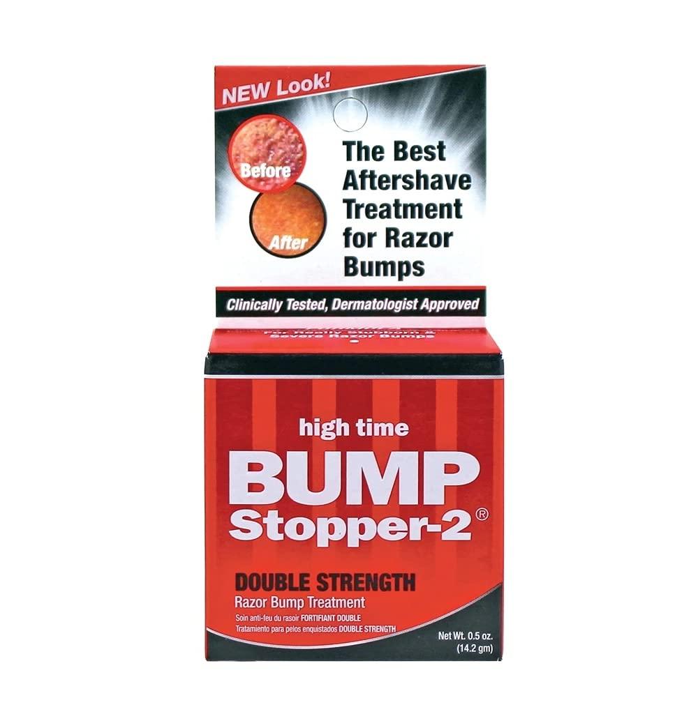 High Time Bump Stopper 2 Double Strength Razor Bump Treatment 0.5 Oz
