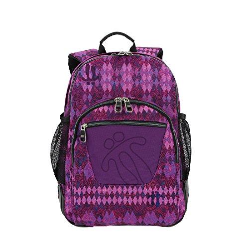 TOTTO MA04ECO029-1710N-6M2 Mochila Escolar, Crayoles, Multicolor, Talla Única