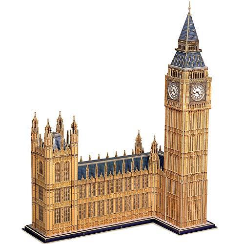 CubicFun 3D Puzzle Reino Unido Big Ben World Gran Arquitectura Modelo Kit
