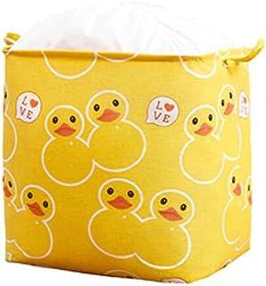 Lpiotyucwh Paniers et Boîtes De Rangement, Boîte de rangement Vêtements Boîte de rangement Tissu Ménage à grande capacité ...