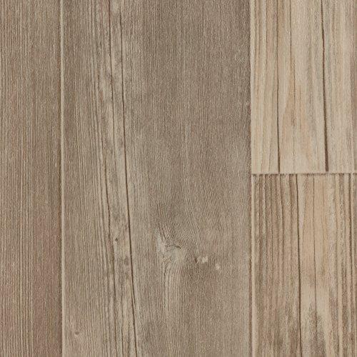 BODENMEISTER BM70400 Vinylboden PVC Bodenbelag Meterware 200, 300, 400 cm breit, Holzoptik Diele Pinie creme weiß