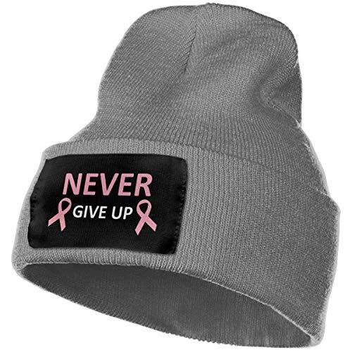 AEMAPE Unisex Beanie Hat Breast Cancer Knit Hat Cap Skull Cap