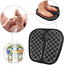 RAKITIC Electric EMS Foot Massager Pad Feet Muscle Stimulator Improve Blood Circulation Relieve Ache Pain