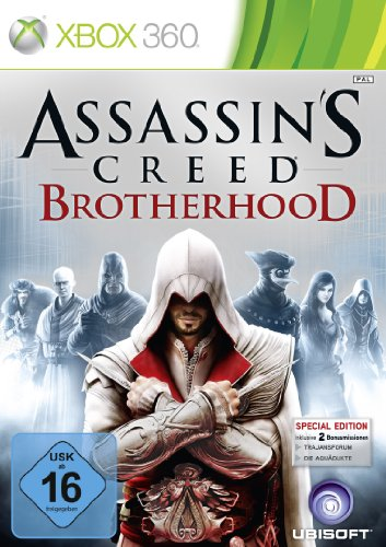 Assassin's Creed Brotherhood - D1 Version (uncut) [Importación alemana]