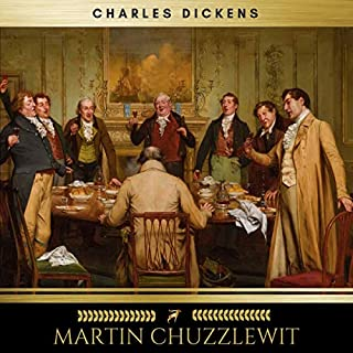 Martin Chuzzlewit audiobook cover art